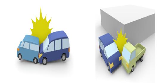 交通事故追突事故出会い頭の事故